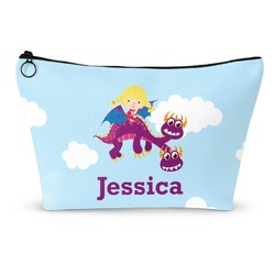 Girl Flying on a Dragon Makeup Bags (Personalized)