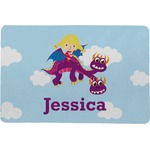 Girl Flying on a Dragon Comfort Mat (Personalized)