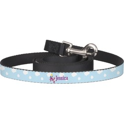 Girl Flying on a Dragon Pet / Dog Leash (Personalized)