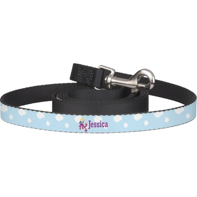 Girl Flying on a Dragon Dog Leash (Personalized)