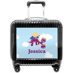 Girl Flying on a Dragon Pilot / Flight Suitcase (Personalized)