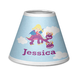 Girl Flying on a Dragon Chandelier Lamp Shade (Personalized)
