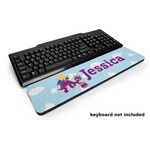 Girl Flying on a Dragon Keyboard Wrist Rest (Personalized)
