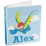 Flying a Dragon 3-Ring Binder (Personalized)