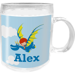 Flying a Dragon Acrylic Kids Mug (Personalized)