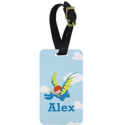 Flying a Dragon Aluminum Luggage Tag (Personalized)