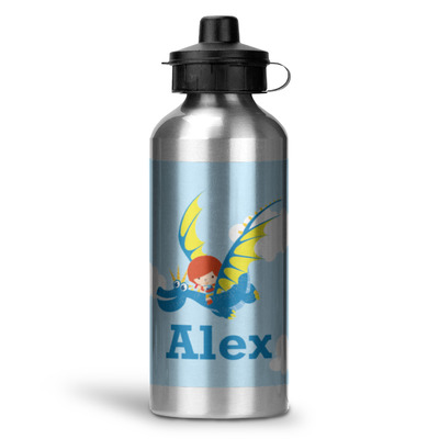 Flying a Dragon Water Bottle - Aluminum - 20 oz (Personalized)