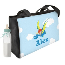 Flying a Dragon Diaper Bag (Personalized)