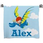 Flying a Dragon Full Print Bath Towel (Personalized)