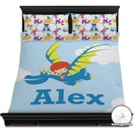 Flying a Dragon Duvet Cover Set (Personalized)