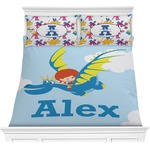 Flying a Dragon Comforter Set (Personalized)