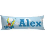 Flying a Dragon Body Pillow Case (Personalized)