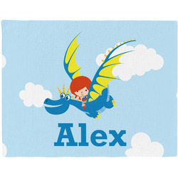 Flying a Dragon Placemat (Fabric) (Personalized)