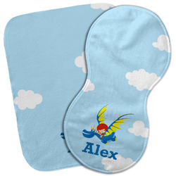 Flying a Dragon Burp Cloth (Personalized)