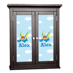 Flying a Dragon Cabinet Decal - Large (Personalized)