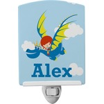 Flying a Dragon Ceramic Night Light (Personalized)