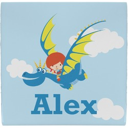 Flying a Dragon Ceramic Tile Hot Pad (Personalized)