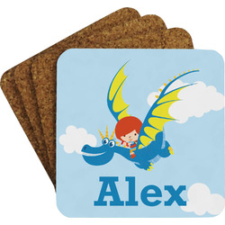 Flying a Dragon Coaster Set (Personalized)