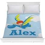 Flying a Dragon Comforter (Personalized)