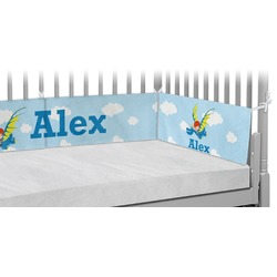 Flying a Dragon Crib Bumper Pads (Personalized)