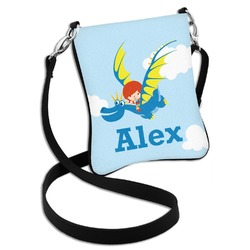 Flying a Dragon Cross Body Bag - 2 Sizes (Personalized)