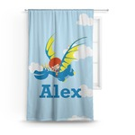 Flying a Dragon Curtain (Personalized)