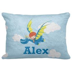 Flying a Dragon Decorative Baby Pillowcase - 16