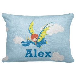 "Flying a Dragon Decorative Baby Pillowcase - 16""x12"" (Personalized)"