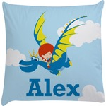 Flying a Dragon Decorative Pillow Case (Personalized)