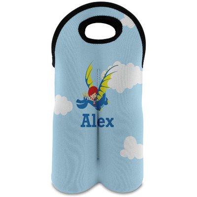 Flying a Dragon Wine Tote Bag (2 Bottles) (Personalized)