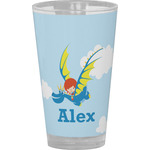 Flying a Dragon Drinking / Pint Glass (Personalized)