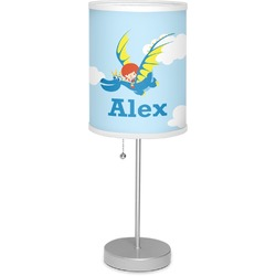 "Flying a Dragon 7"" Drum Lamp with Shade (Personalized)"