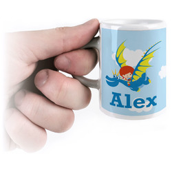 Flying a Dragon Espresso Cups (Personalized)