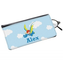 Flying a Dragon Genuine Leather Eyeglass Case (Personalized)