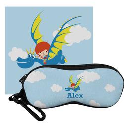 Flying a Dragon Eyeglass Case & Cloth (Personalized)