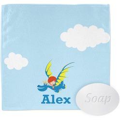 Flying a Dragon Washcloth (Personalized)