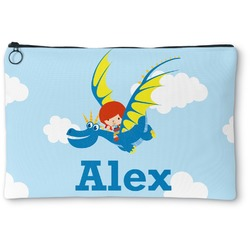 Flying a Dragon Zipper Pouch (Personalized)