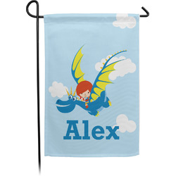 Flying a Dragon Garden Flag - Single or Double Sided (Personalized)