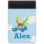 Flying a Dragon Genuine Leather Small Memo Pad (Personalized)