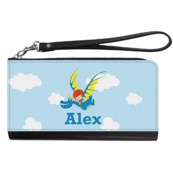 Flying a Dragon Genuine Leather Smartphone Wrist Wallet (Personalized)