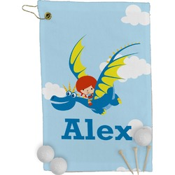 Flying a Dragon Golf Towel - Full Print (Personalized)