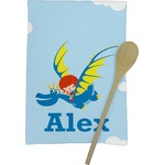 Flying a Dragon Kitchen Towel - Full Print (Personalized)