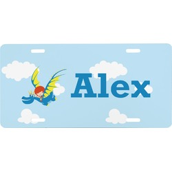 Flying a Dragon Front License Plate (Personalized)