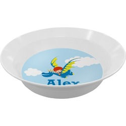 Flying a Dragon Melamine Bowl (Personalized)