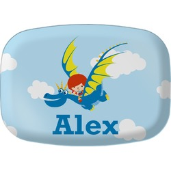 Flying a Dragon Melamine Platter (Personalized)