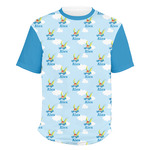 Flying a Dragon Men's Crew T-Shirt (Personalized)