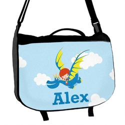 Flying a Dragon Messenger Bag (Personalized)