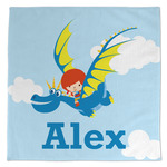 Flying a Dragon Large Microfiber Dish Rag (Personalized)