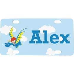 Flying a Dragon Mini License Plate (Personalized)