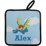 Flying a Dragon Pot Holder (Personalized)